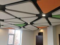 玻纤吸音板吊顶成品展示